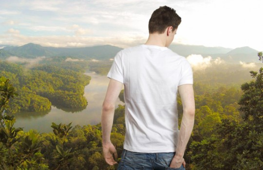 Transparent Shirt – Photoshop Effect