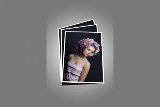 foto modelo effect PSD Photoshop Action