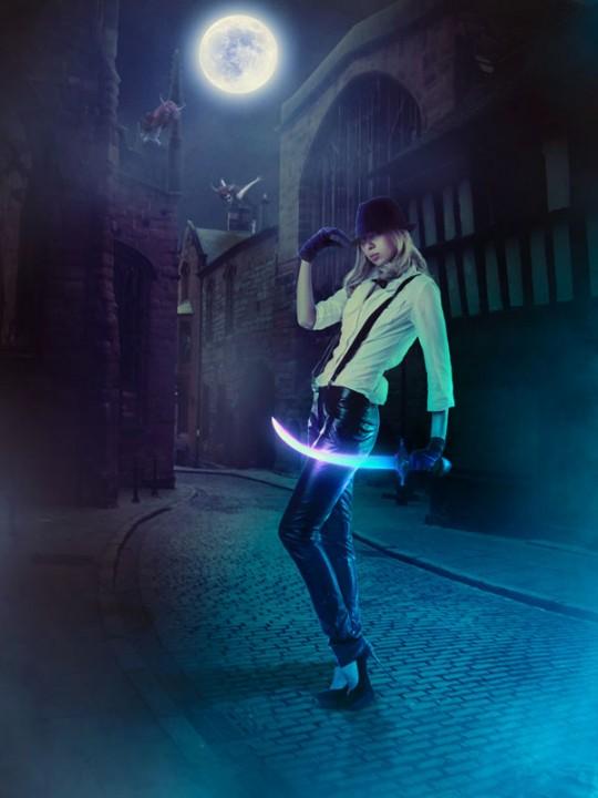 Create a Dark Night Hunter Scene with Photoshop