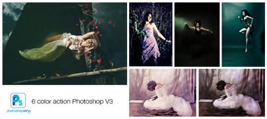 PHOTOSHOPSIKHO COLOR EFFECT ACTION V3